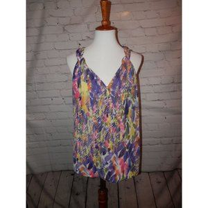 CABI Top Medium Petals Floral Sheer Wrap 730